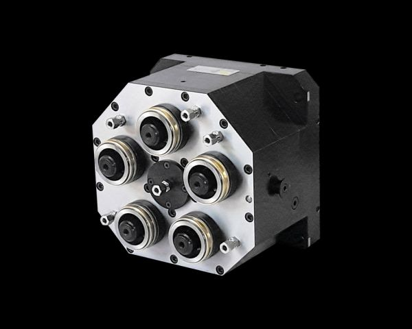 5x HSK63 multispindle head