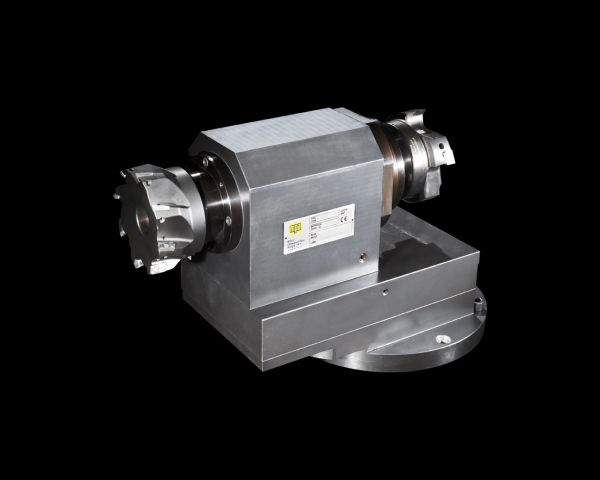 Double-ended milling angle head
